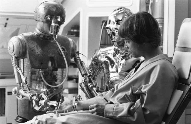 Luke Skywalker bionic hand