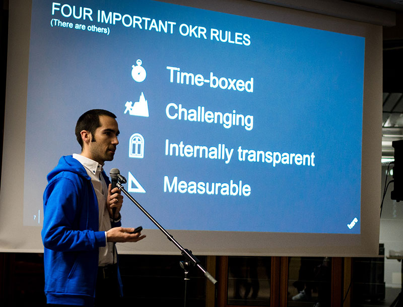 Will Gill at ProductTank Berlin, February 2016