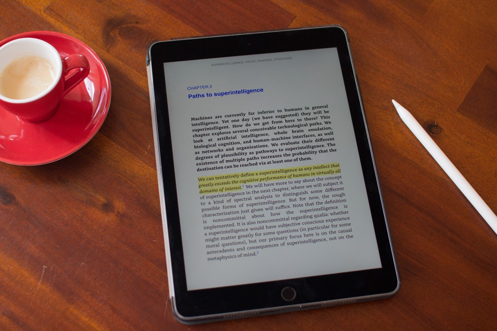 The iPad is really versatile - and great for ebooks.
